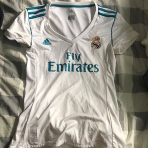 Women's Small Real Madrid Jersey (v-neck)